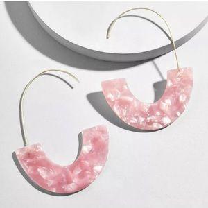 Jewelry - Pink Acrylic Earrings
